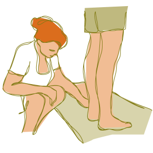 Physiotherapy foot assessment